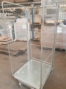 Roll Cages (USED) 3 Sided Warehouse - Heavy duty