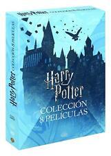 HARRY POTTER COLECCION COMPLETA DVD 8 PELICULAS NUEVO ( SIN ABRIR ) EDICION 2018