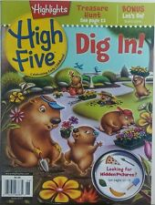 Highlights High Five June 2017 Dig In Hidden Pictures Children FREE SHIPPING sb