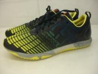 Men's 11.5 M Reebok Crossfit Games Sprint TR Training Shoes Black Yellow Sneaker