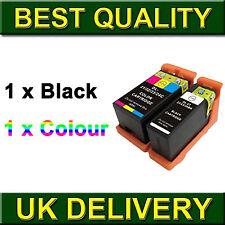 2x Ink Series 21 B+C for DeLL V313w V313 V715w V515w Printer InkJet Cartridges