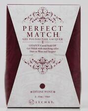 LeChat Perfect Match DIVINE WINE #185 Gel Polish & Nail Lacquer PMS185