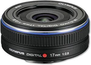 [NEAR MINT] Olympus M.Zuiko 261564 17mm f/2.8 Aspherical Lens Black (N437)