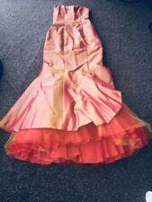 Absolutamente impresionante Canela la eternidad novia Boda Vestido talla 8 Barato en eBay