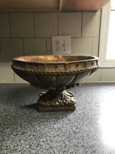 Home Decor Gold Bowl