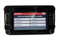 VW Autoradio RCD510 RDS CD AUX Golf für Passat Jetta Touran Caddy POLO Tiguan DE