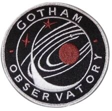 Batman and Robin Movie Gotham Observatory Logo Embroidered Patch