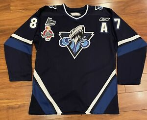 SIDNEY CROSBY RIMOUSKI OCEANIC REEBOK JERSEY SIZE 54 PITTSBURGH PENGUINS