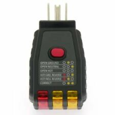 AC GFCI Circuit Tester Electric Outlet Plug Receptacle - Home Office