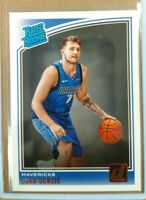 2018-19 LUKA DONCIC Panini Donruss Rated Rookie #177 Mint LUKA DONCIC ROOKIE RC