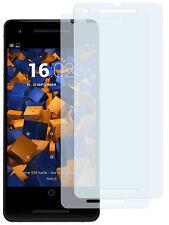 mumbi 2x Folie für Google Pixel 2 Schutzfolie klar Displayschutz Displayfolie