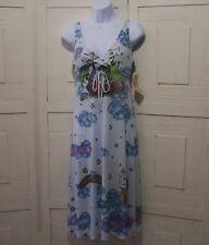 Butterfly Dropout Maxi Dress Sz XS NWTS Boho Medieval Viking Boat Fantasy $119