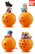 BANDAI Ride on Dragonball Super Z Gashapon Mini Figure set of 4 Goku Buu Zeno