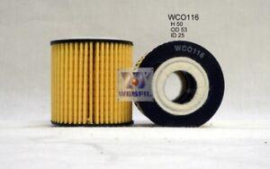 WESFIL OIL FILTER FOR Smart Roadster 0.7L 2003-2007 WCO116