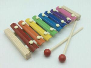 Xylophon aus Holz Spielzeug für Kleinkinder