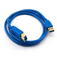 Hochgeschwindigkeit USB 3.0 Typ A-Stecker zu B-Male Datenkabel 24k Vergoldet