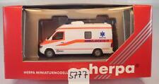 Herpa 1/87 043380 Mercedes Benz Sprinter 06 RTW Ambulance Druten NL OVP #5777