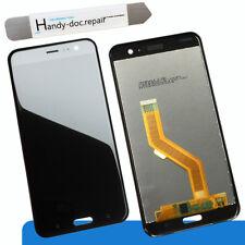 LCD per HTC u11 Nero Display Unità COMPLETAMENTE NUOVO DI RICAMBIO BLACK