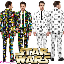 ADULT MENS STAR WARS SUIT OPPOSUIT STORMTROOPER LICENSED FANCY DRESS COSTUME