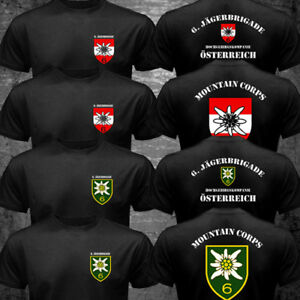 Austria Armed Forces Mountain Corps Hochgebirgskompanie 6 Jägerbrigade T-shirt