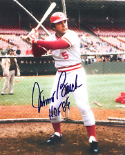 Johnny Bench (Cincinnati Reds)  8 x10 Reprint Signed Photo.