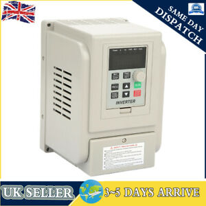 2.2KW AC220V Single To 3 Phase Motor Variable Frequency Drive Inverter Converter
