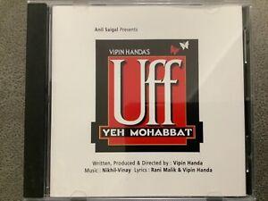 Uff Yeh Mohabbat - RARE MELODY Bollywood Music CD MCD 643