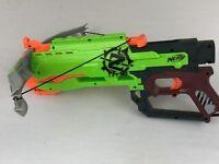 Green Nerf N-Strike Elite Zombie Strike Crossbow Blaster (Dart Gun).