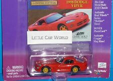 Johnny Lightning  Classic Gold Collection 1998 Dodge Viper Real Riders Cragar