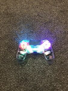 Transparent PS4 Wireless Custom LED Controller With Clear Buttons✨