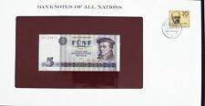 Banknotes of All Nations GDR East Germany 1975 5 Mark UNC P 27a IH008415 Low