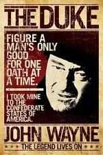 JOHN WAYNE POSTER ~ ONE OATH THE DUKE 24x36 Western