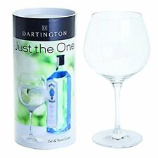 Gin Glass Dartington Crystal JUST THE ONE Gin & Tonic Copa Glass Gift Boxed