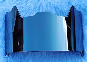Precision Football Helmet Visor, Mirror Chrome