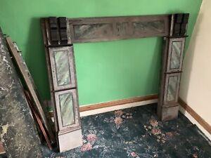 Antique Slate / Marble?  Fireplace Surround.
