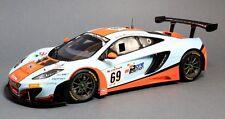TSM 141822R 2013 McLaren 12C GT3 #69 24 Hours of Spa Gulf Racing 1:18 Scale