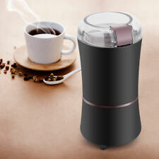 220V Electric Coffee Grinder Maker Stainless Steel Blades Bean Mill Cafe Tool