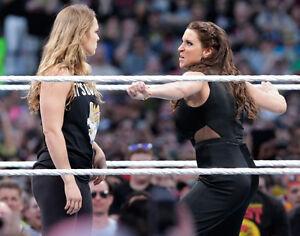 Stephanie McMahon & Ronda Rousey 8x10 Photo UFC Picture Wrestlemania 31 2015 MMA