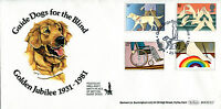 25 MARCH 1981 YEAR OF DISABLED PEOPLE BENHAM BOCS (2) 2 FIRST DAY COVER SHS