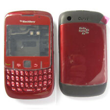 Blackberry 8520 Curve Carcasa Completa Con Lente-Rojo