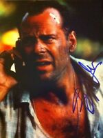 Autographed Bruce Willis 8x10 Die Hard SIGNED