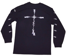Crooks and Castles Crosses Long Sleeve T Shirt Tee in Black Size Small NWT