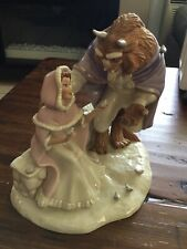 Love's First Touch Beauty And The Beast Disney Lenox Figurine