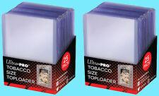 50 ULTRA PRO TOBACCO SIZE CARD TOPLOADERS Trading Sport Allen Ginter Mini Cigar
