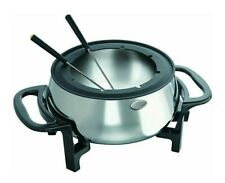 NEW rival electric Stainless Steel fondue cooker 3.5 Quart FD350 S