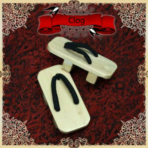 1/ 4 1/3 Uncle ID BJD BJD Shoes Clogs Slipper Japanese Style Wooden Flip-Flops
