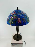 Stained Glass Tiffany Style Floral Table Lamp Shade