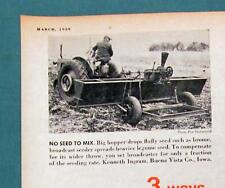 Original 1959 Farm Handy  Ad Features Kenneth Ingram of Buena Vista County Iowa