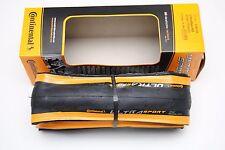 Copertoncino CONTINENTAL UltraSport 2 700x23c Pieghevole Black/Orange
