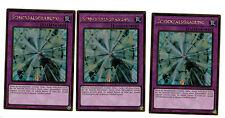 3 x schicksalsgrabung mvp1-deg22, 1 ère Edition, or rare, MINT